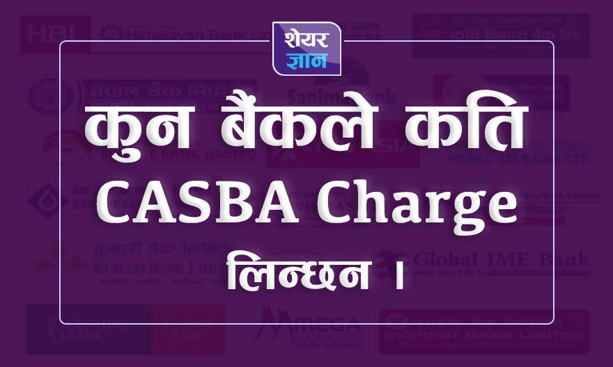 CASBA Charge of Nepali Banks