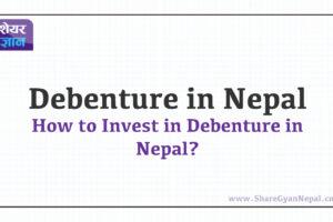 Debenture in Nepal